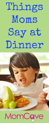Things Mom Say at Dinner Omaha Steaks Giveaway MomCave