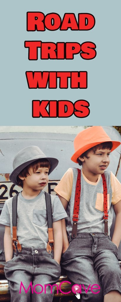 Road Trips with Kids. Slacker Mom Tips for Road Trips with kids from MomCaveTV.com