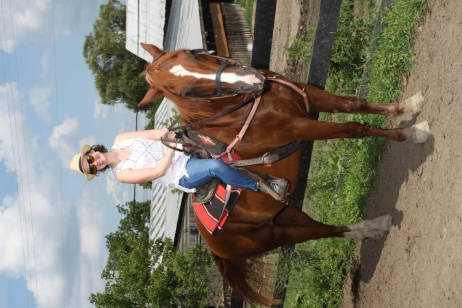 training horses is like raising kids mom on horse