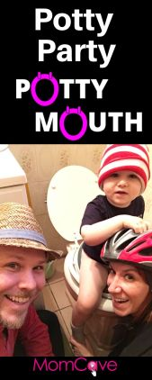 Potty Party MomCave Potty Mouth Video Series