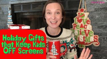 MomCave Holiday Gifts that keep kids off screen