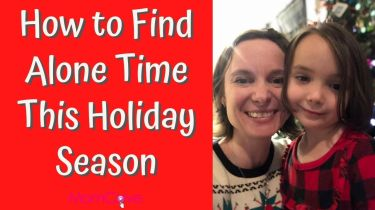 how to get alone time this holiday season