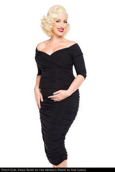 Hottest Retro Maternity Dress California Monica Wiggle Dress