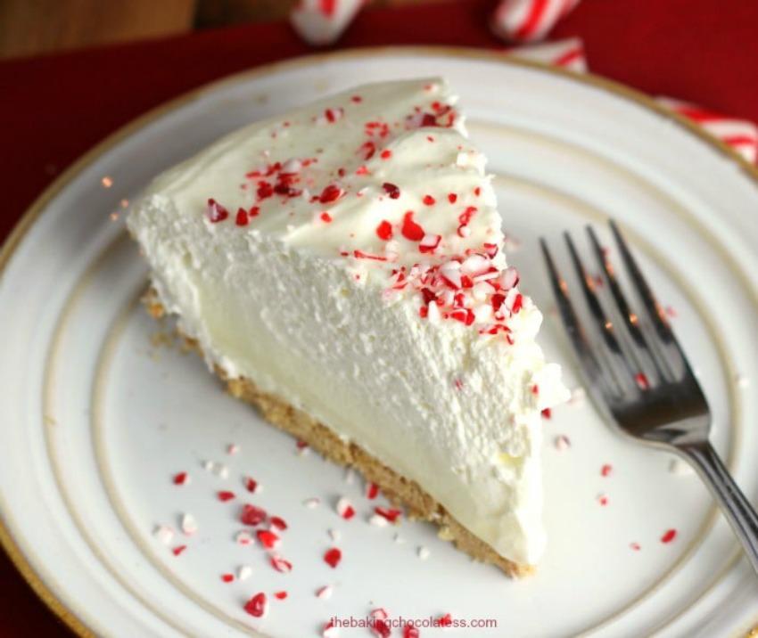Dessert Holiday Pie Black White And