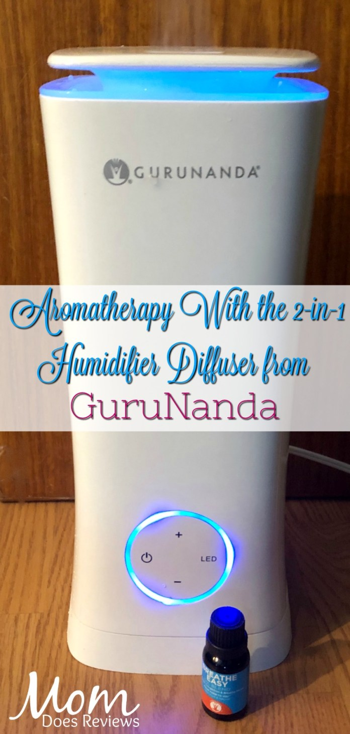 Get Moist Aromatherapy with the 2-in-1 Humidifier Diffuser from GuruNanda #Sweet2019