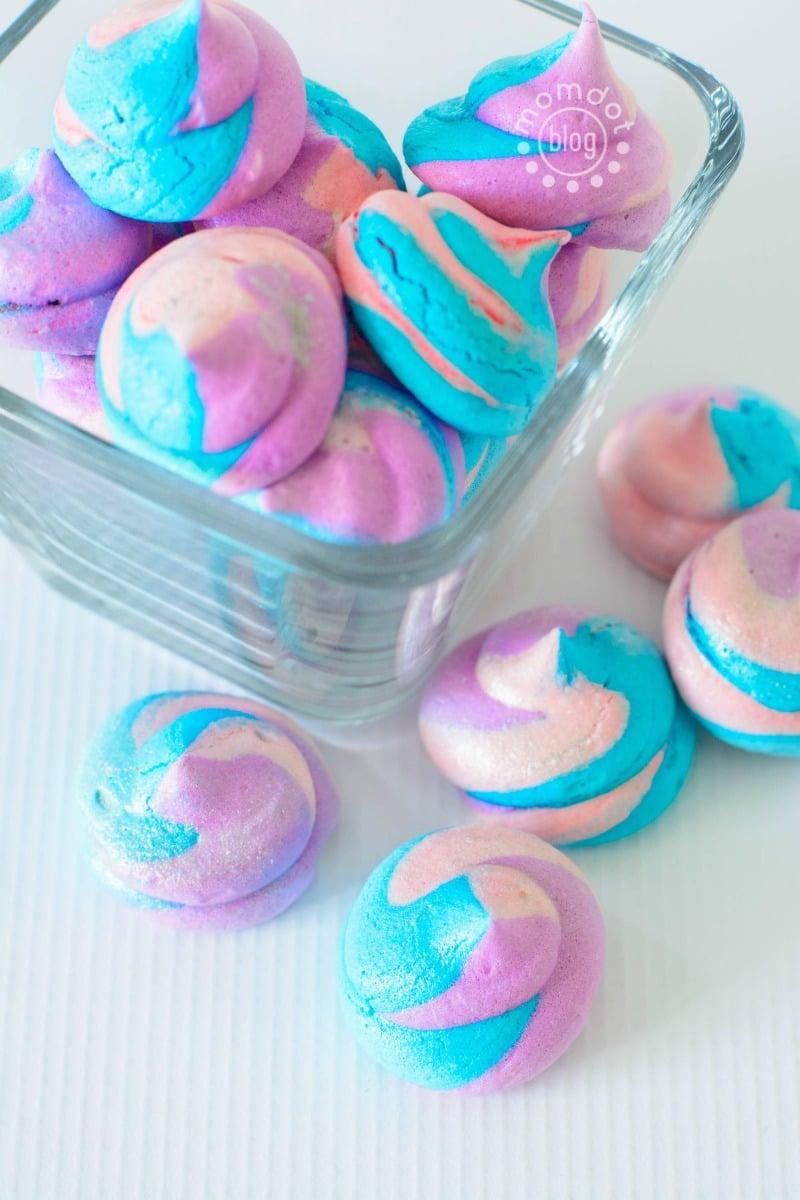Unicorn Poop Meringues Easy Meringue Cookie Recipe