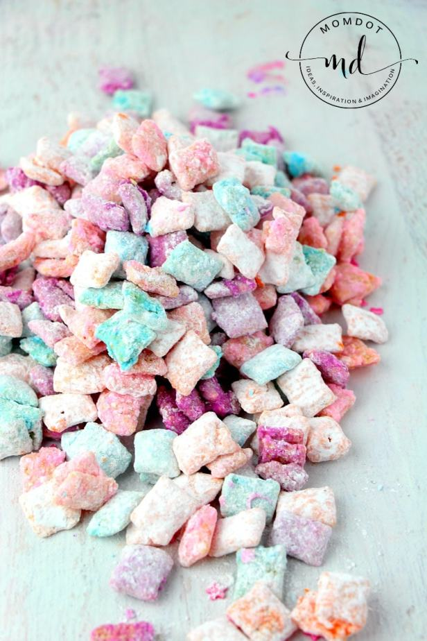 Unicorn Poop Muddy Buddies