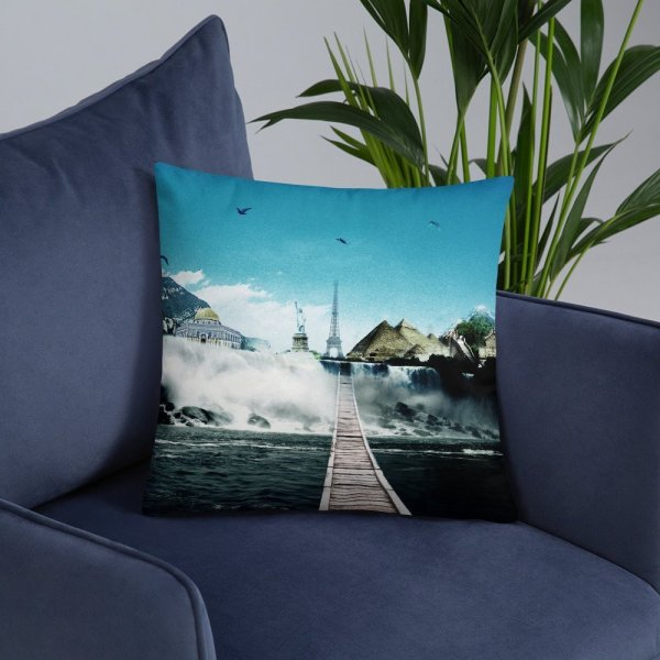 I want to go where I want -Basic Pillow -12