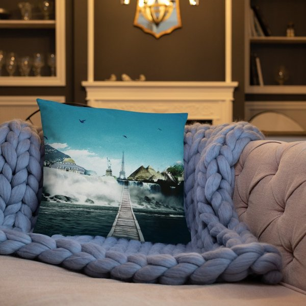 I want to go where I want -Basic Pillow -9