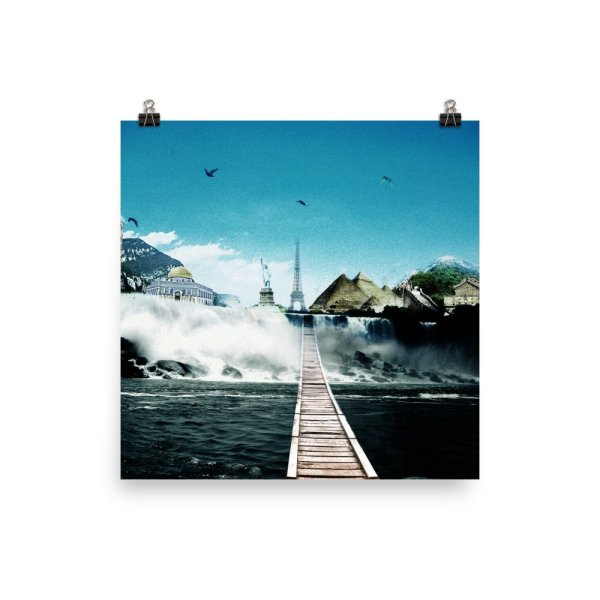 I want to go where I want -Photo paper poster-03