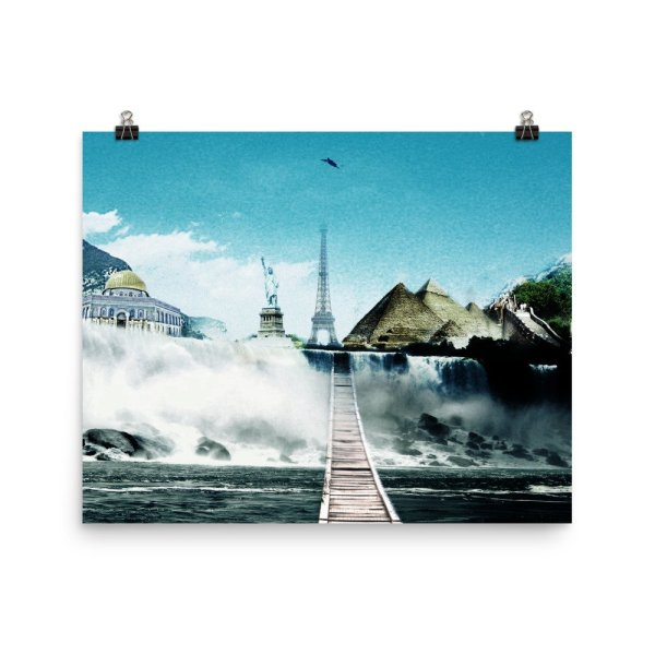 I want to go where I want -Photo paper poster-08