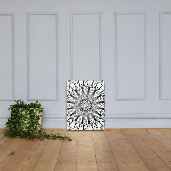 pattern mandala 01 – Poster – Canvas-02