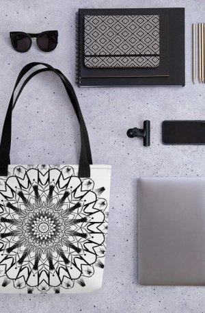 pattern mandala 01 – Tote bag