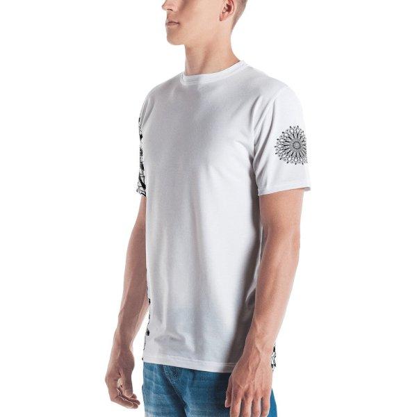 pattern mandala 01 - all over print Men's T-shirt - 1
