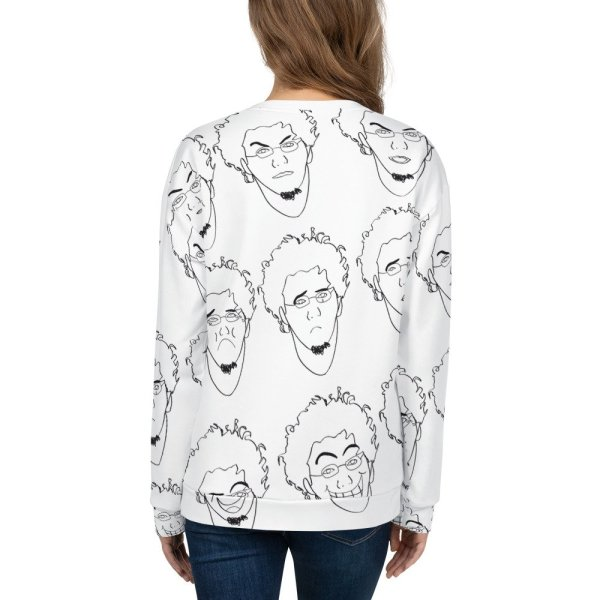 Some of Facial Expressions – Unisex Sweatshirt-momenarts-store-back