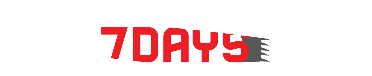 7days Barbershop Logo