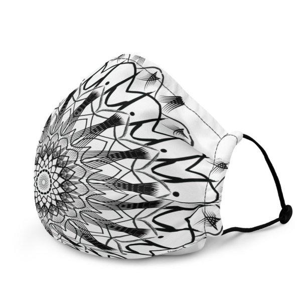 pattern mandala 01 - Premium face mask - momenarts