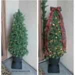 Diy Decorative Topiary Christmas Trees Mom Endeavors