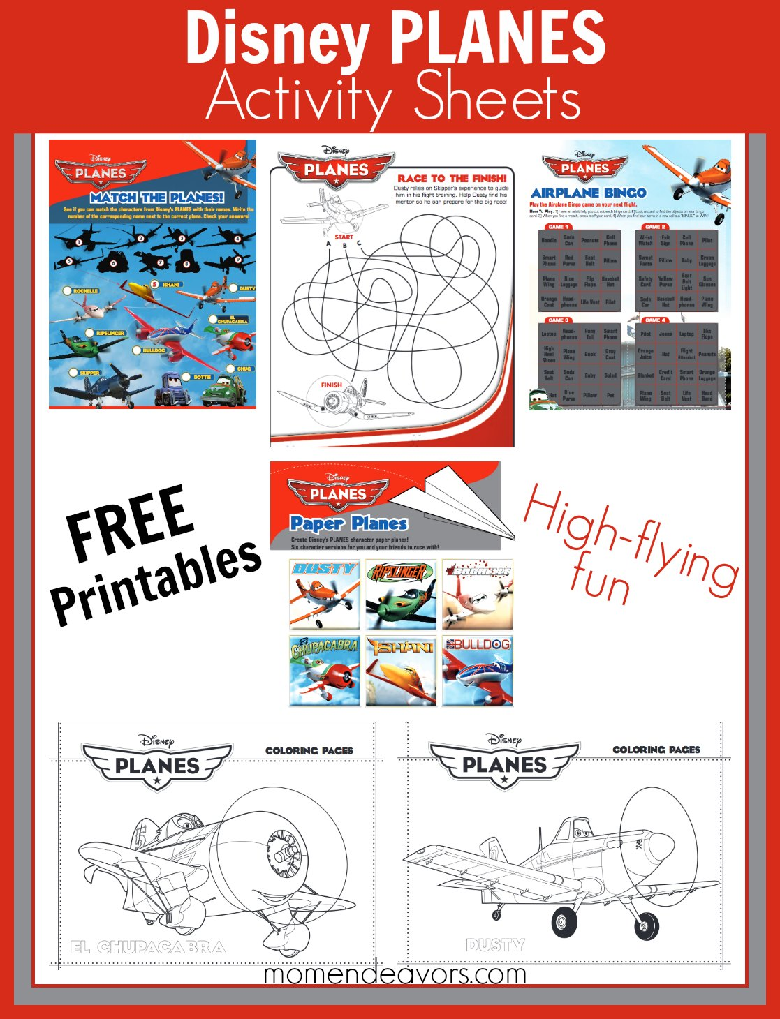 Disney Planes Fire Amp Rescue Printable Activities Amp Coloring Pages