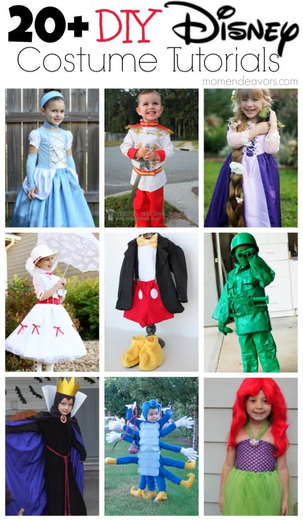 20+ DIY Disney Costume Tutorials