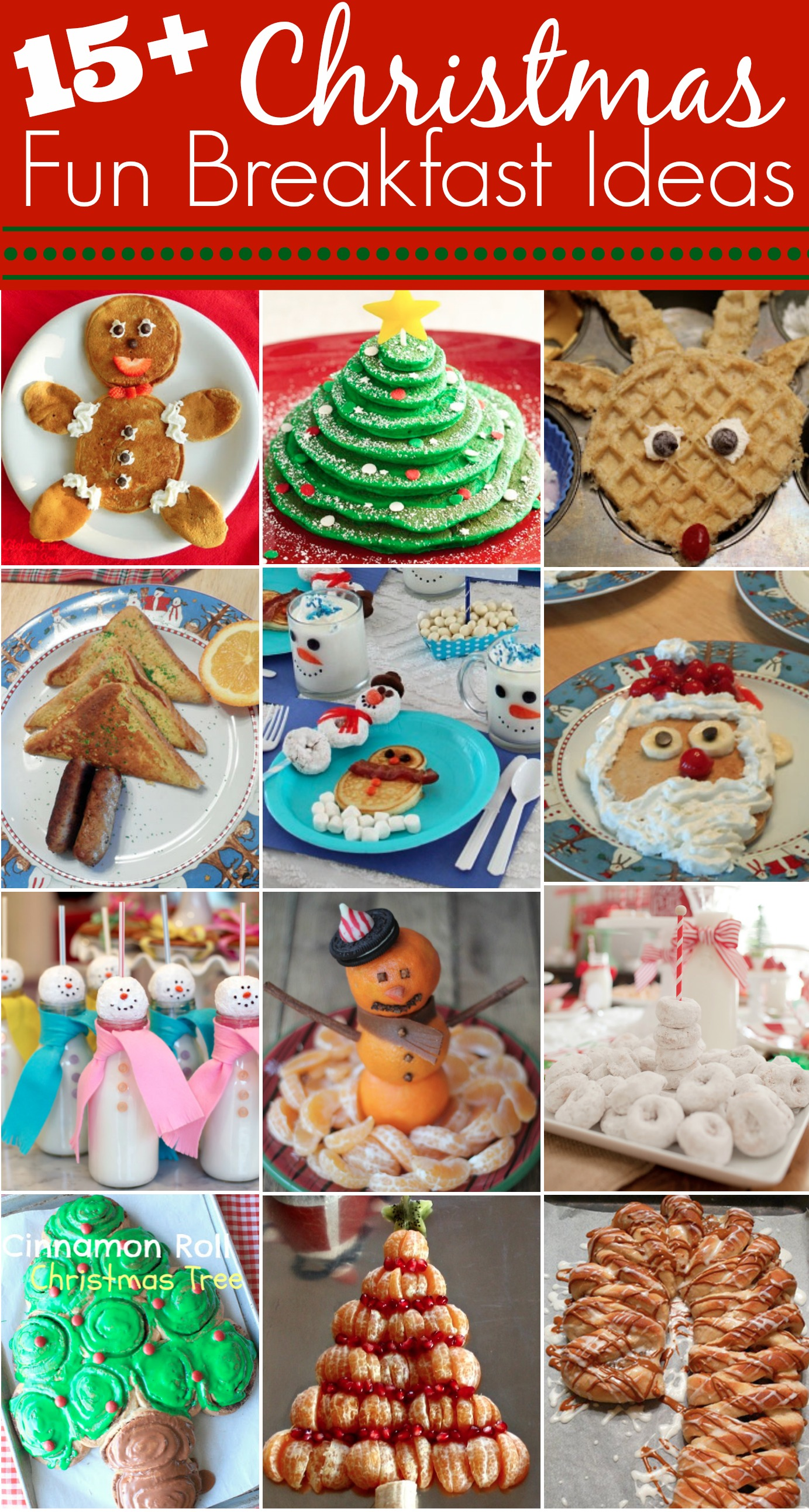 15 Fun Christmas Breakfast Ideas