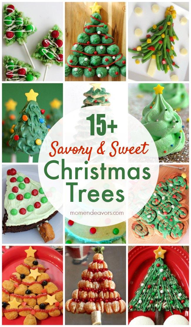 15 Savory Amp Sweet Edible Christmas Tree Recipes