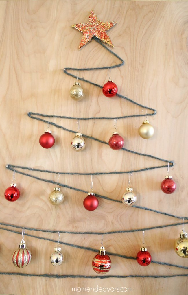 Decorative String Art Christmas Tree