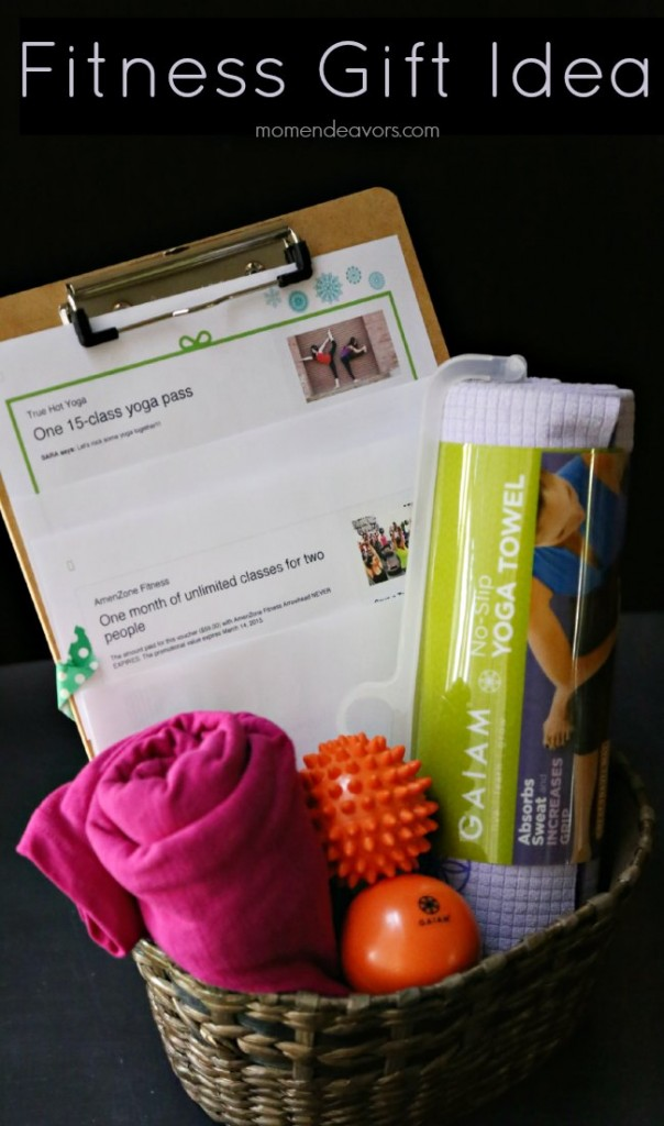 Fitness Gift Basket Idea