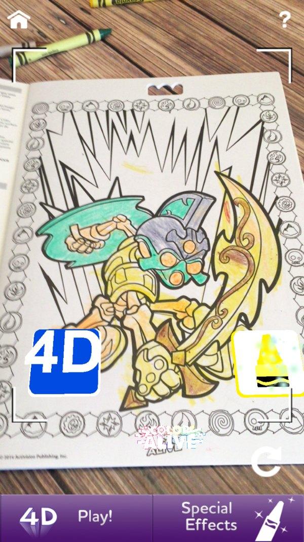 fun kid activity 4d crayola color alive
