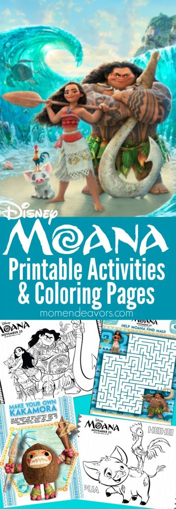 Moana printable activities coloring pages, i love you printable coloring pages