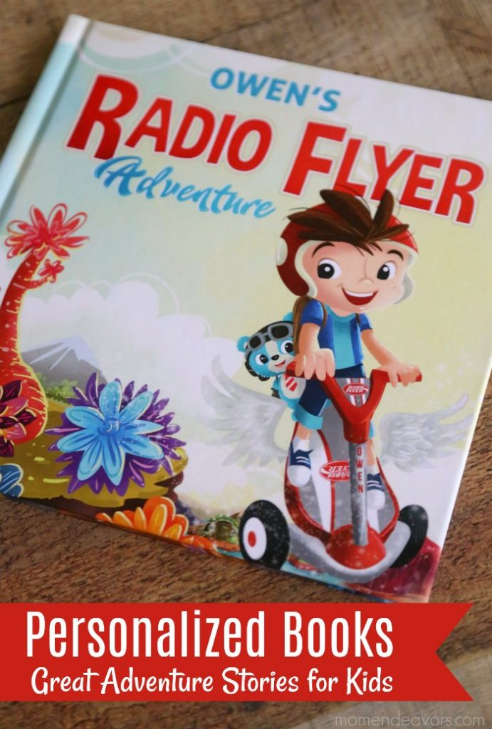 Personalized Adventure Books For Kids With Radio Flyer