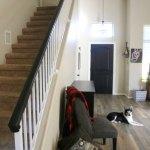 How To Paint An Oak Banister Black Mom Endeavors