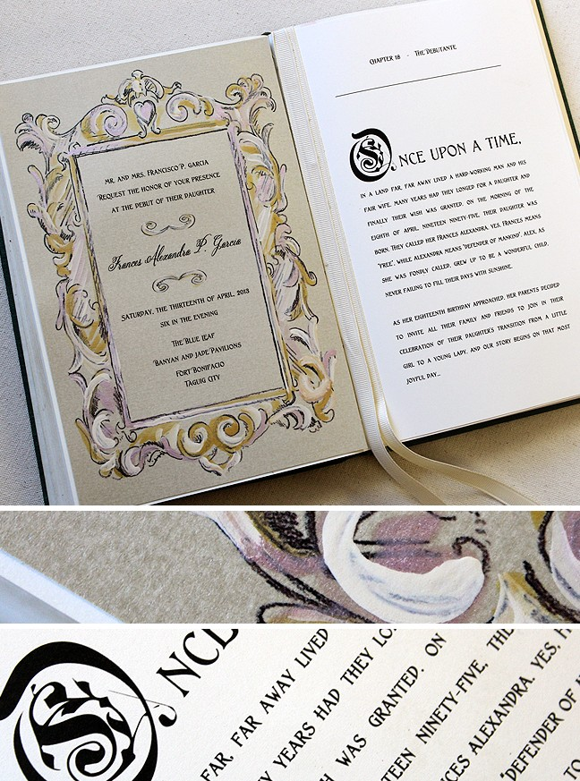 Comely Fairy Tale Wedding Invitations As An Additional Inspiration To Create Alluring Invitation 308201620