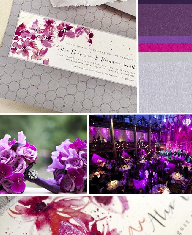 Pin It Momental Designs111 Angel Orensanz Orchid Wedding Invitations