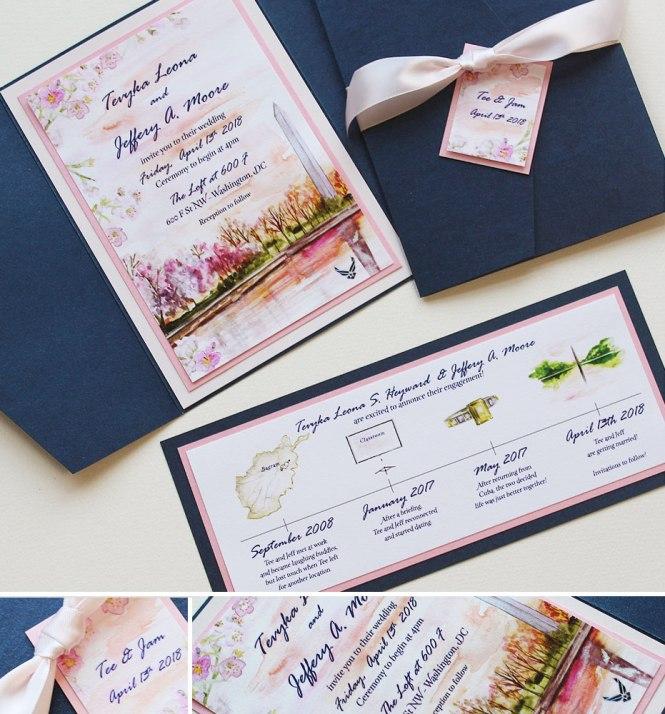 Washington Dc Cherry Blossom Wedding