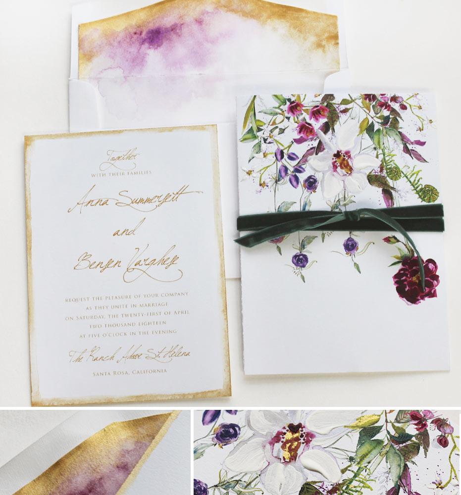 Bluebonnet Wedding Bouquet