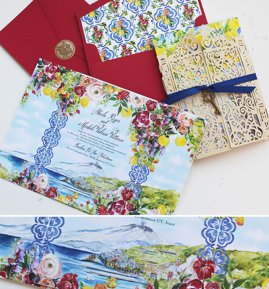 Wedding Invitations Under Custom 1