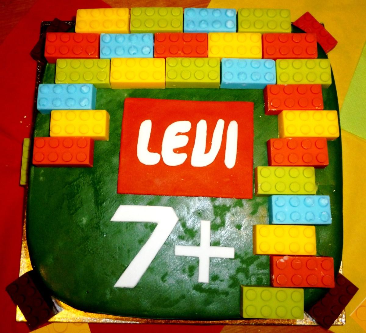 Der 7. Geburtstag im Lego Style