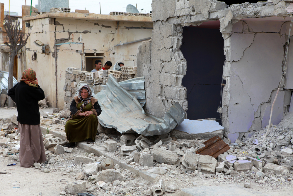 Homes Reduced to Rubble in Syria
