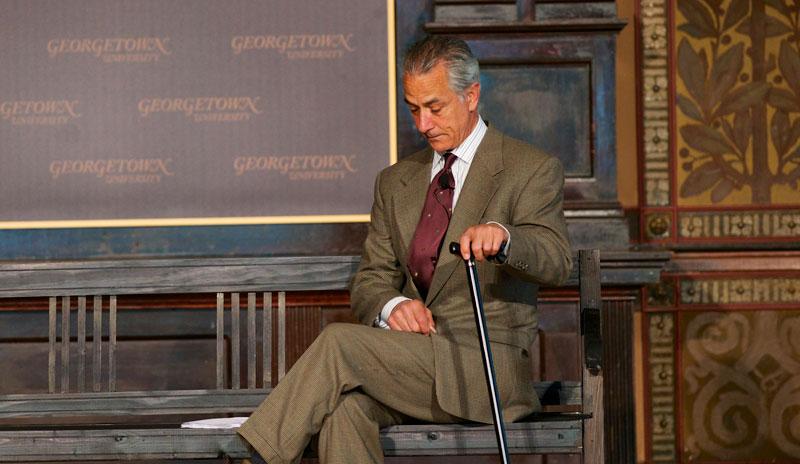 Jan Karski at Georgetown University