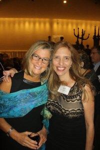 Amy Kaslow, winner of the 2014 Moment Magazine International Changemaker Award with Nadine Epstein