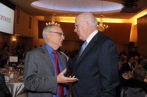 David Saperstein and Senator Patrick Leahy on November 16, 2014