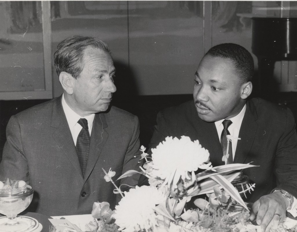 Joachim Prinz and Martin Luther King Jr.