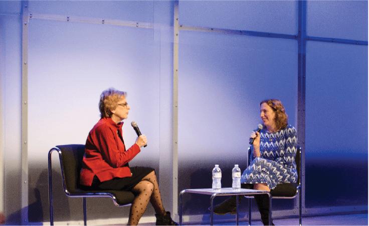 Anita Diamant and Dara Horn Talk