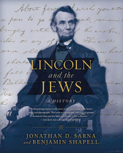 Lincoln and The Jews by Jonathan Sarna and Benjamin Shapell book cover