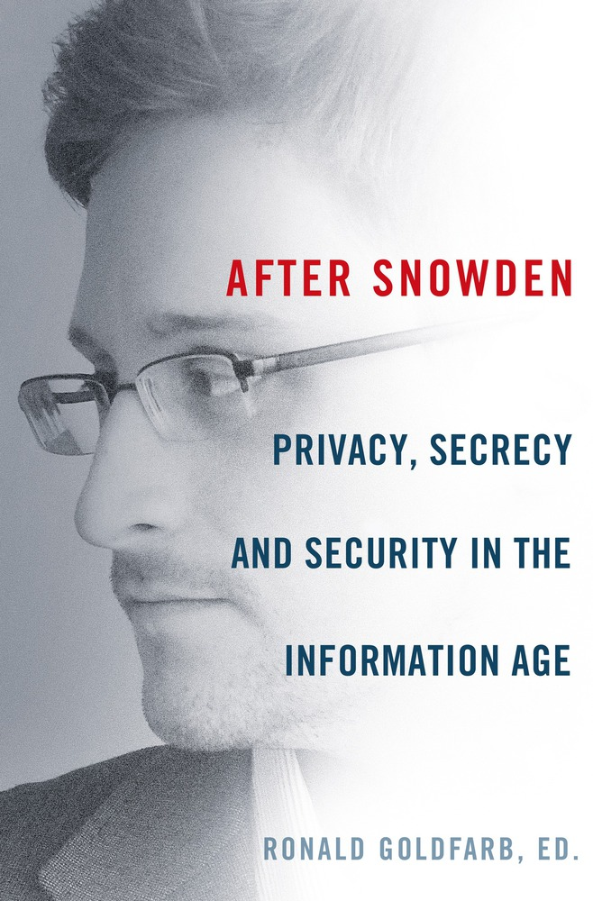 After Snowden by Ronald Goldfarb, ED. Cover