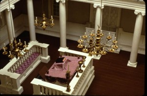 4) 1989 090 Touro Synagogue Interior Detail