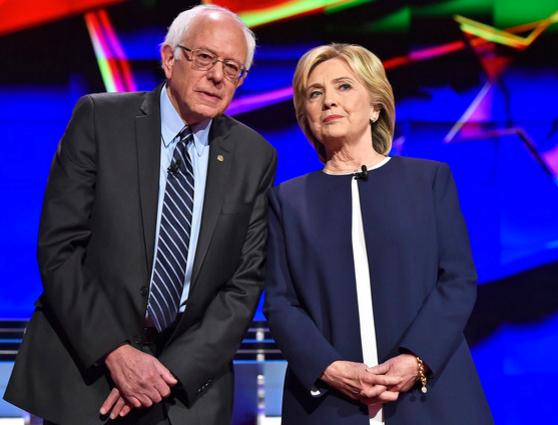 Bernie and Hilary