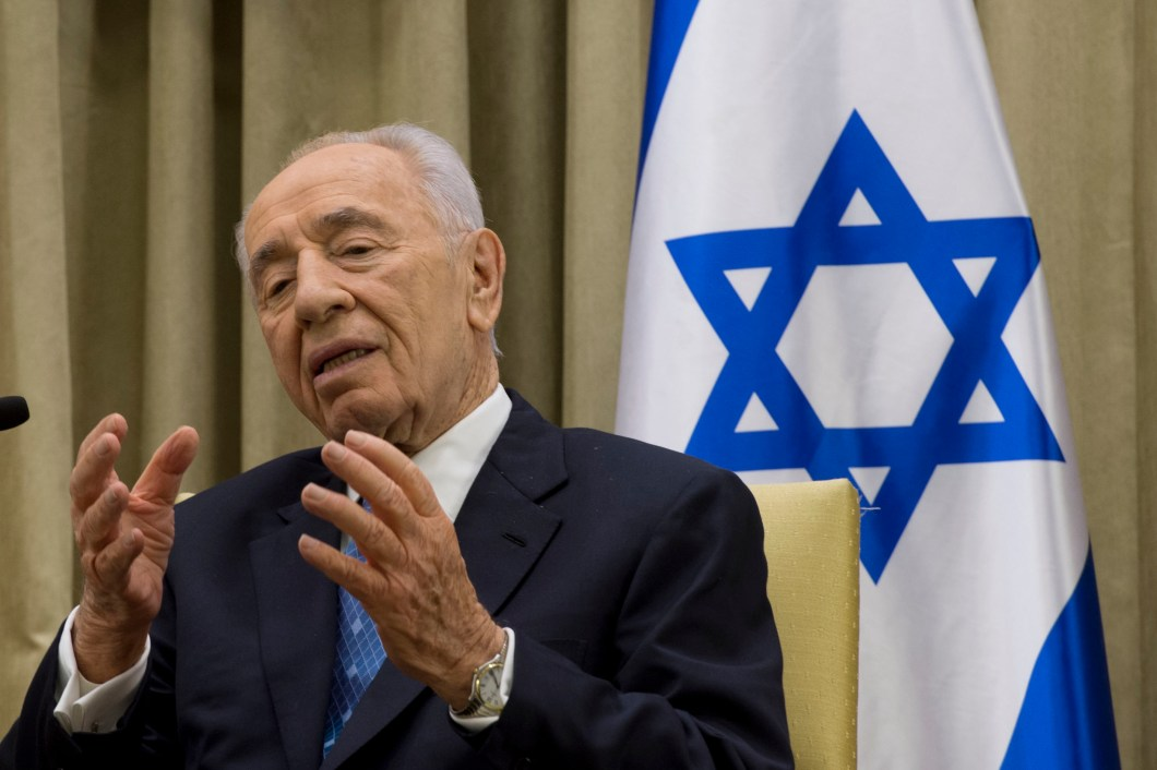 Shimon Peres in 2013. Credit: Wikimedia Commons