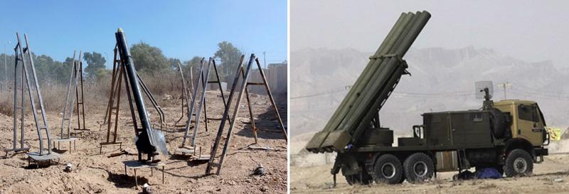 qassam rocket launch